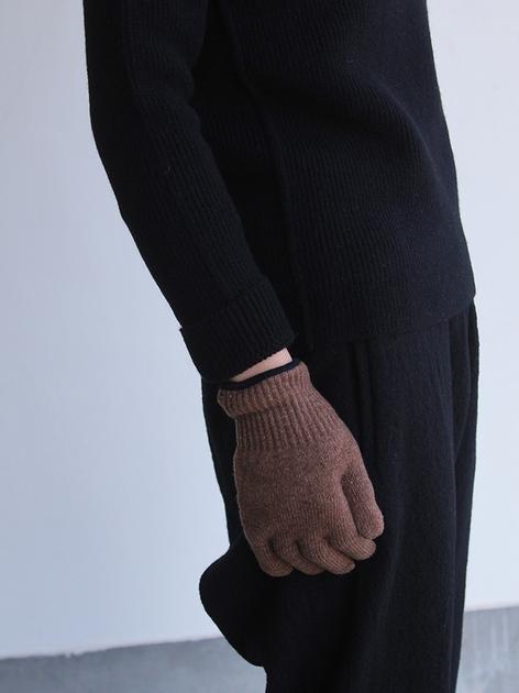 Crew neck rib sweater / Easy pants 4