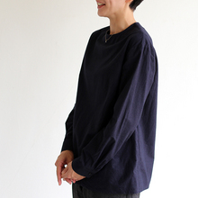 Crew neck slip on blouse / New tapered pants~yak