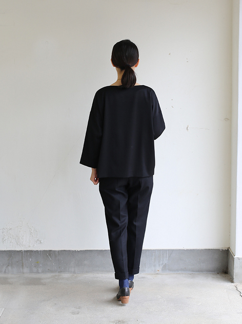 New tapared pants~wool (black) 5
