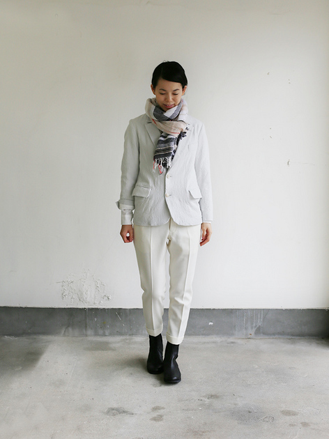 New tapared pants~wool (ivory) 2