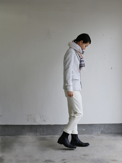 New tapared pants~wool (ivory) 3