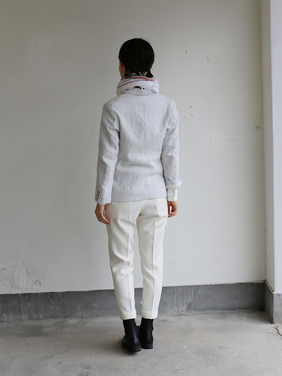 New tapared pants~wool (ivory) 5