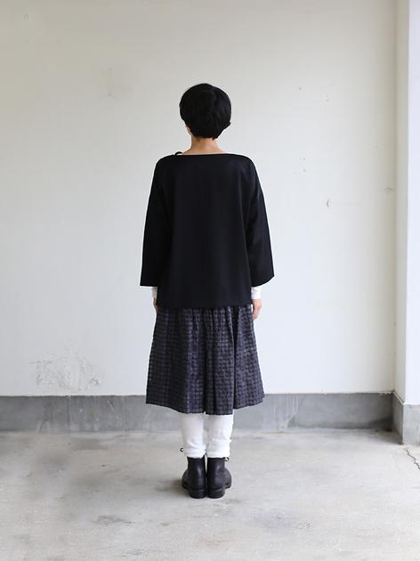 Front pocket slip on blouse / GASA* 5