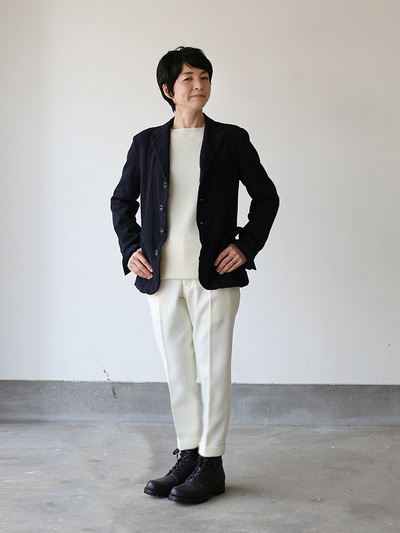 Old tailored jacket Ⅱ / New tapered pants 2