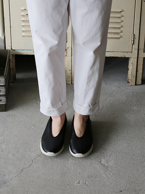 Men's easy tapered pants~cotton 4