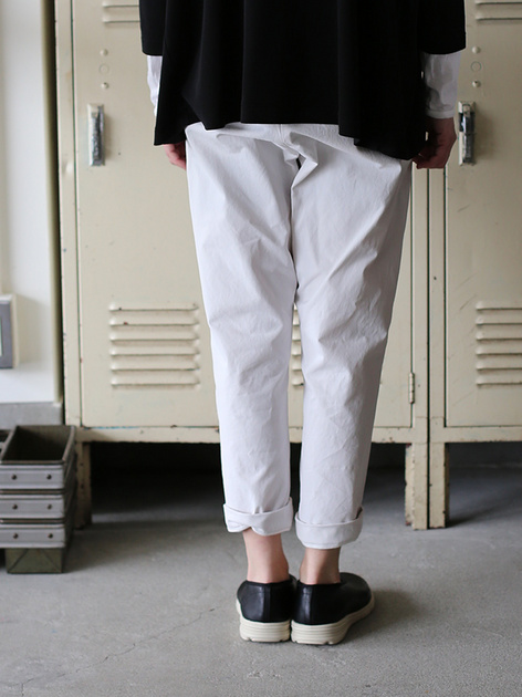 Men's easy tapered pants~cotton 5