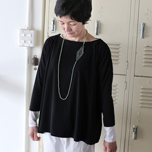 Tent line blouse tee