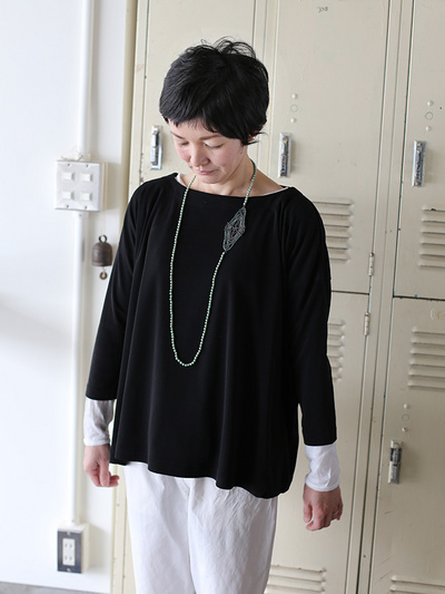 Tent line blouse tee 1