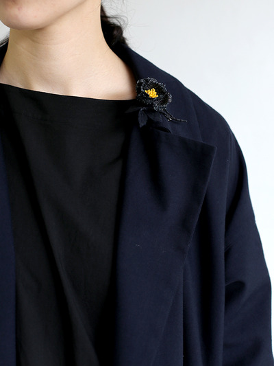 Button less coat 1