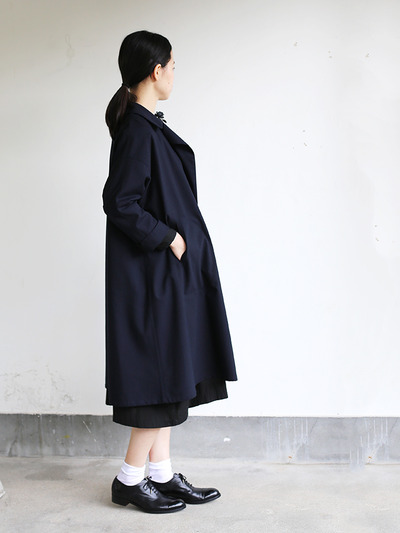 Button less coat 3