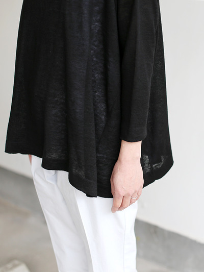 Tent line sweater~linen 1