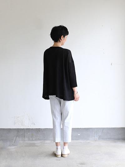 Tent line sweater~linen 4