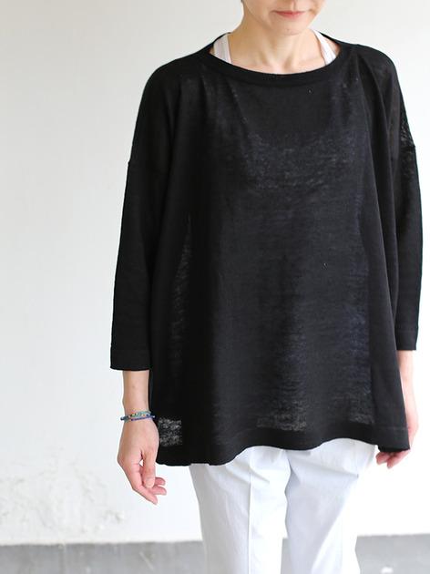 Tent line sweater~linen 5