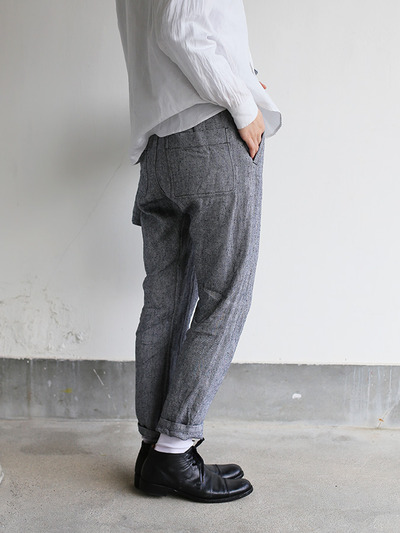 Uncle climbing pants~linen silk 1
