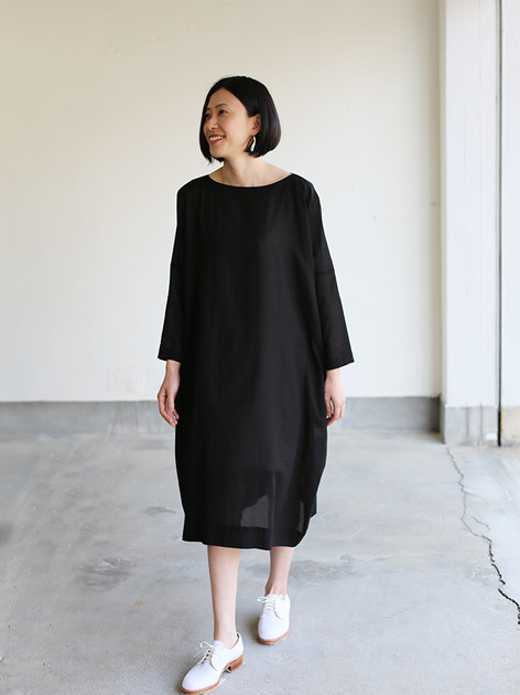 Dolman dress~cotton 2