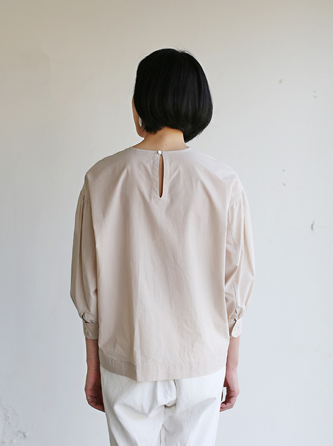 Round cuff blouse~cotton 5