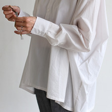 Men's pull over big shirt~cotton