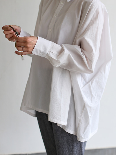 Men's pull over big shirt~cotton 1