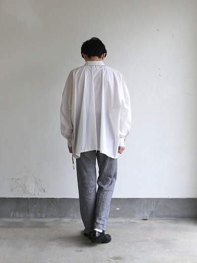 Men's pull over big shirt~cotton 4