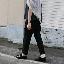 Tapered pants~cotton