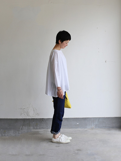 Tent line blouse~silk cotton 3