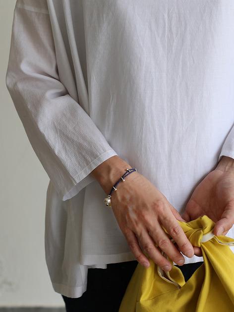 Tent line blouse~silk cotton 2