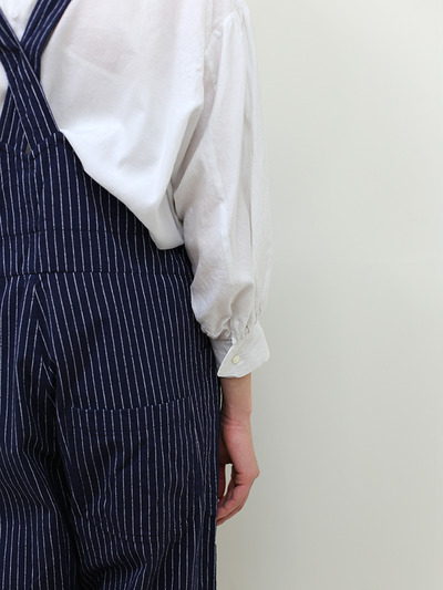 YAECA / Round cuff blouse~silk cotton 1