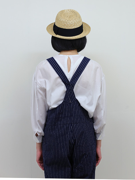 YAECA / Round cuff blouse~silk cotton 5