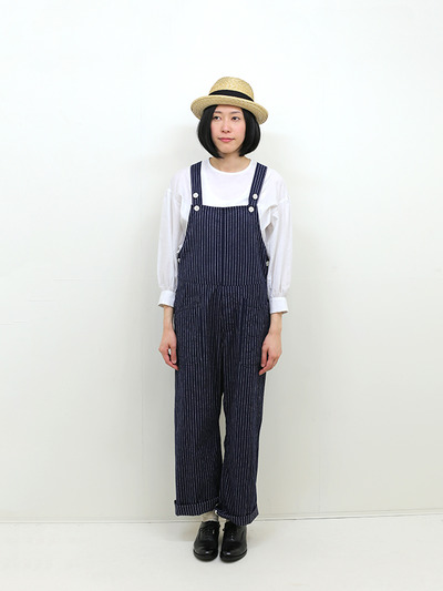 YAECA / Round cuff blouse~silk cotton 2
