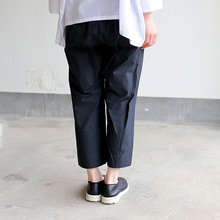 Easy cropped pants~cotton