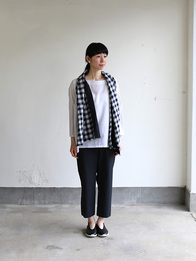 Easy cropped pants~cotton 2