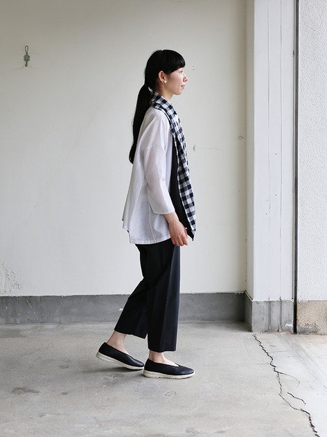 Easy cropped pants~cotton 3