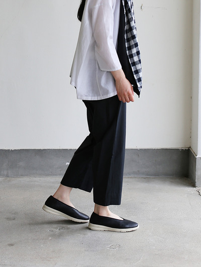 Easy cropped pants~cotton 4