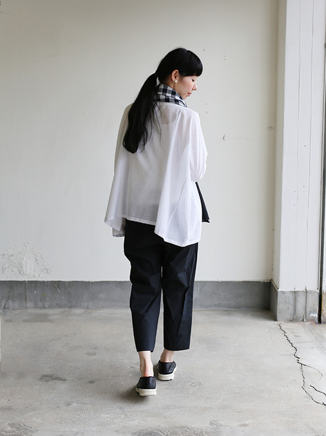 Easy cropped pants~cotton 5