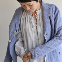 Old tailored jacket Ⅱ~cotton linen dungaree