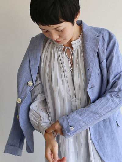 Old tailored jacket Ⅱ~cotton linen dungaree 1