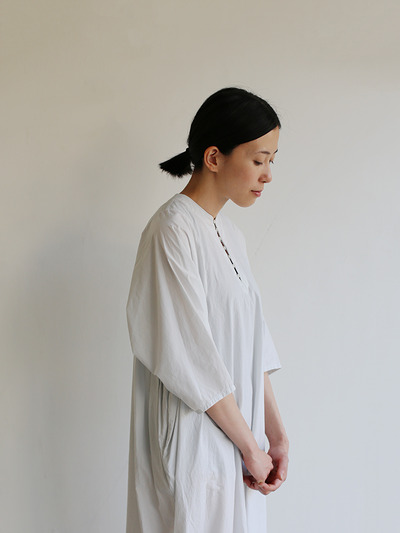 Big sleeve dress~cotton 1