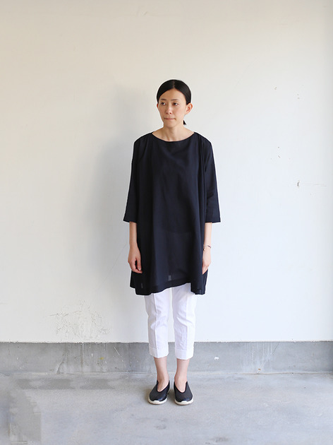 Tent line tunic~ai-susu cotton  2