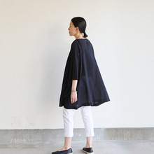 Tent line tunic~ai-susu cotton
