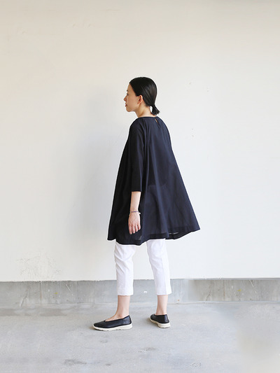 Tent line tunic~ai-susu cotton  1
