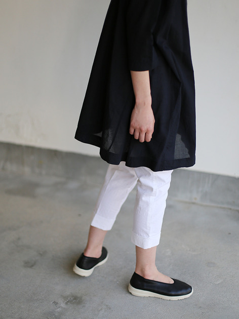 Tent line tunic~ai-susu cotton  4