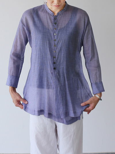 Indian Military blouse~silk cotton 1