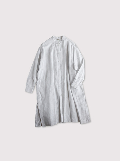 Front open long shirt~cottonlinen 1
