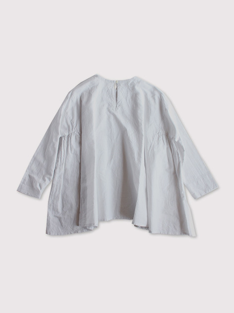 Side gather tentline blouse~cottonlinen 3