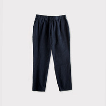 Simple easy tapered pants~cotton