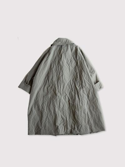 Small collar balloon coat~nylon 2