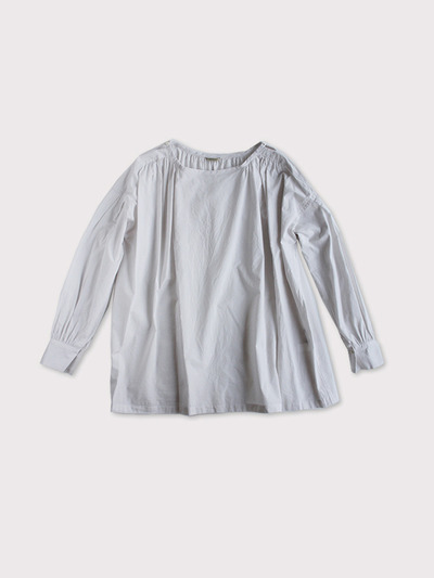 Sholder gather blouse~cotton 1