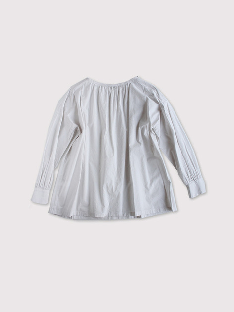 Sholder gather blouse~cotton 2