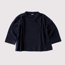Stand collar big blouse~cotton linen ramie