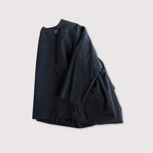 Side tuck tentline jacket~cotton
